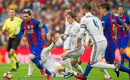 Horario y televisón del Barcelona-Real Madrid