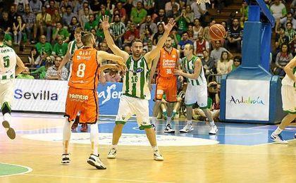 Imagen del Betis-Valencia de la pasada temporada.