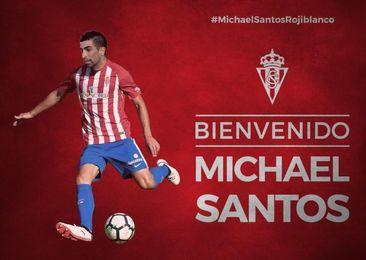 Michael Santos jugará cedido en el Sporting esta temporada.