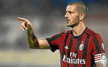 Bonucci ha llegado al Milan y ya es capitán del equipo.