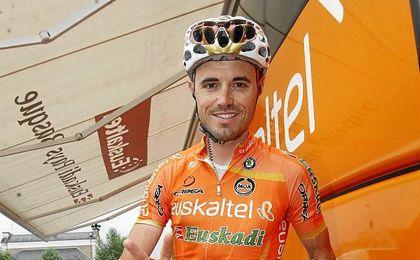 El ciclista recibió la noticia en Nimes, donde dará comienzo La Vuelta a España.