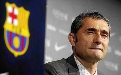 Valverde no sólo tiene la mente puesta en el partido.