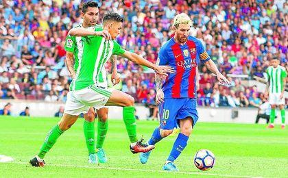 El Betis también arrancó la LaLiga pasada contra el Barcelona en el Camp Nou, donde cayó por 6-2.