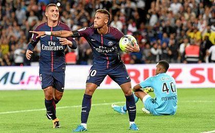 Neymar ha vuelto a salirse con el PSG: