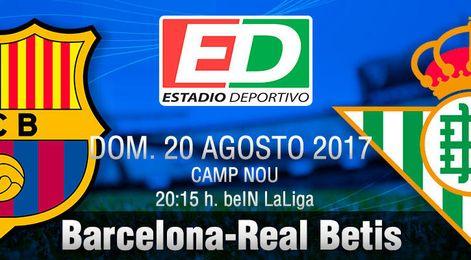 Barcelona-Real Betis: Aun herido, sigue siendo un Miura