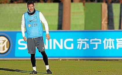 La situación del delantero balcánico no parece que vaya a mejorar en el Inter.