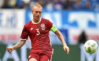 Kjaer capitaneará a Dinamarca