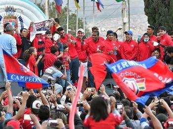 En un día se agotan las entradas en Bolivia para el partido Wilstermann-River