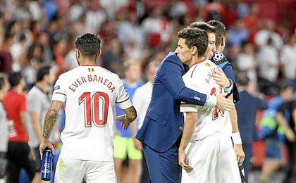 El Grupo E, asequible para el Sevilla en Champions