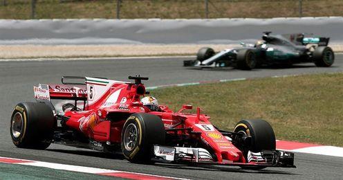 Vettel defiende 14 puntos sobre Hamilton en Spa, donde Alonso espera mejoras