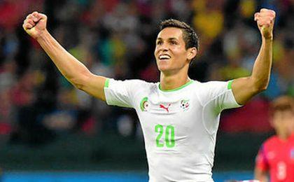 Argelia llama a Mandi; Boudebouz descansará