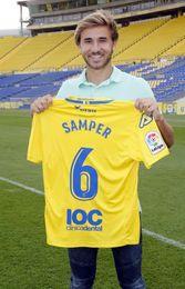 """Samper espera aportar """"equilibrio y organización"""" al centro del campo isleño"""