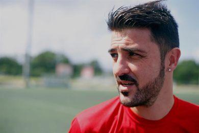 1-1. Villa celebra su regreso a la selección de España con una asistencia y empate