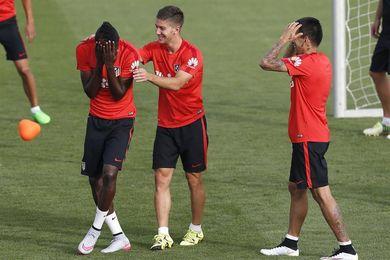 El Atlético, con Thomas como titular y Vietto-Correa en ataque