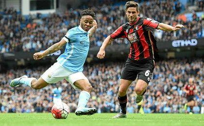 City y Bournemouth juegan el primer partido del día.