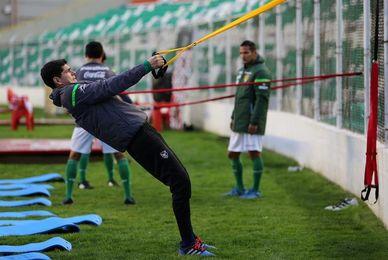 La selección boliviana solo espera a Lampe y Martins Moreno
