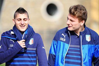 Verratti, Belotti e Immobile lideran lista de Italia para el duelo contra España