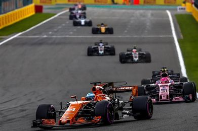 Alonso abandona en la vuelta 26 de Spa-Francorchamps