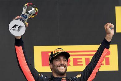 """Ricciardo: """"Siempre es bueno un podio, sobre todo después de salir sexto"""""""
