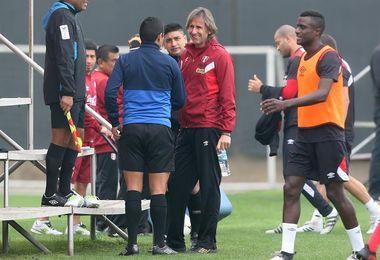 Trauco y Peña se entrenan con la selección Perú que espera a Guerrero y Cueva