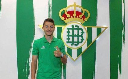 Liberto, nuevo jugador del Real Betis