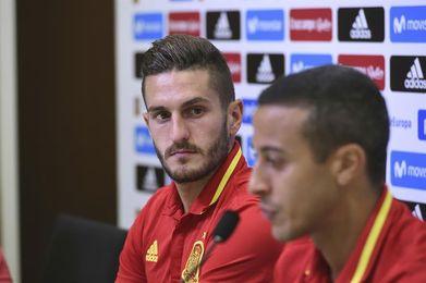 """Koke: """"Lo de la Eurocopa nos sirvió para mejorar ante Italia"""""""