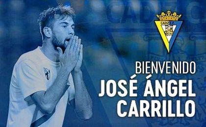 Así ha dado la bienvenida el Cádiz a Carrillo.