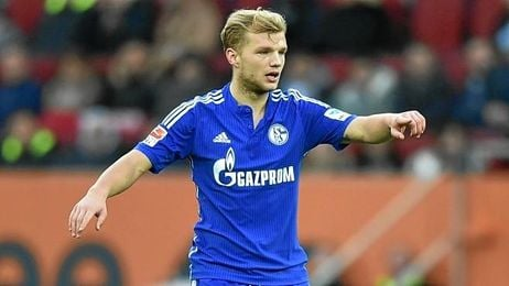 Geis, en un partido con la camiseta del Schalke.