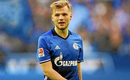 Geis, centrocampista del Schalke 04.