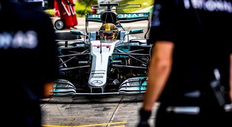 Hamilton: Los Ferrari están cerca, será una carrera parecida a la última
