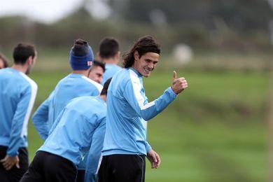 Uruguay retoma los entrenamientos para encarar el partido ante Paraguay