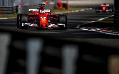 Vettel: No fue un día ideal, espero que mañana vayan mejor las cosas