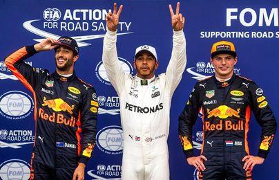 Hamilton bate el récord de ´poles´ de Schumacher y saldrá primero en Monza