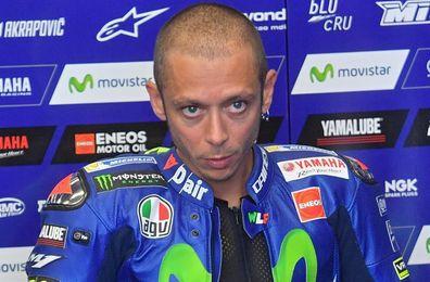 Valentino Rossi recibe el alta médica tres días después de accidente de moto
