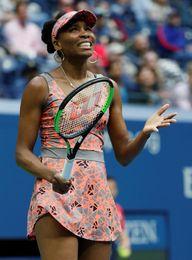 Venus Williams gana en octavos a la española Carla Suárez