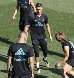 Cristiano Ronaldo ya se entrena en Valdebebas