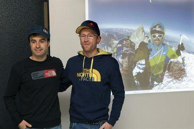Los hermanos Pou consiguen dos aperturas y una escalada libre en Perú
