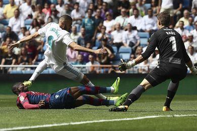 Zidane descarta lesión de rodilla de Benzema e informa que es muscular