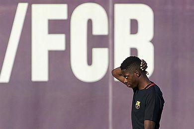 Dembélé se queda fuera del once inicial; Darder debuta en el Espanyol
