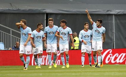 1-0. Maxi Gómez regala al Celta la primera victoria de la temporada