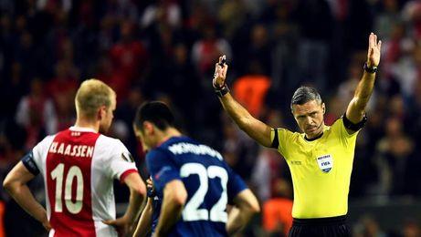 Skomina dirigirá el Barça-Juventus y Mazic el Roma-Atlético