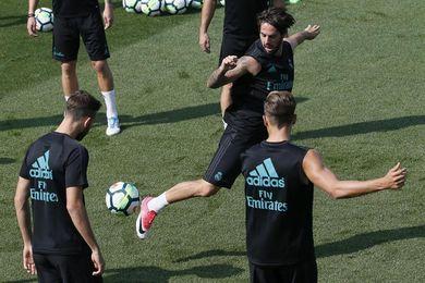 El Madrid continúa preparando la visita del APOEL sin Benzema ni Asensio