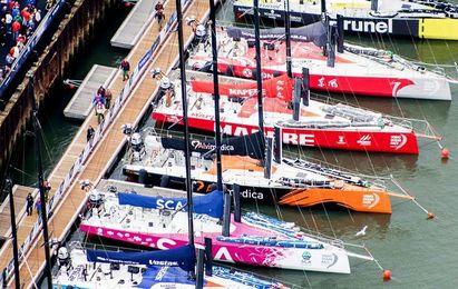 La flota de la Volvo Ocean Race llegará a Alicante el 12 de octubre
