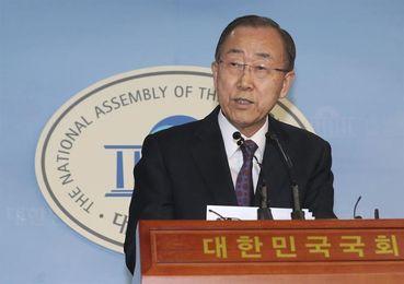 Ban Ki-moon es elegido presidente de la Comisión de Ética del COI