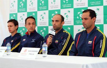 Colombia espera sorprender a Croacia para clasificar al Grupo Mundial de la Copa Davis