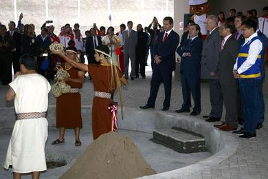 Lima pone la primera piedra de la villa de los Juegos Panamericanos de 2019