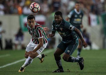 1-0. Liga hace un buen negocio en Río y Fluminense lamenta la ventaja mínima