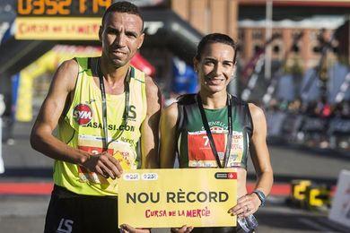 Mourad El Bannouri y Lidia Rodríguez ganan y establecen nuevos récords
