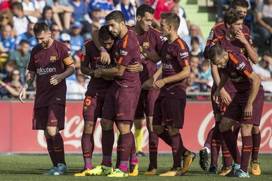 Paulinho salva al Barça; Griezmann deja su nombre en la historia del Wanda