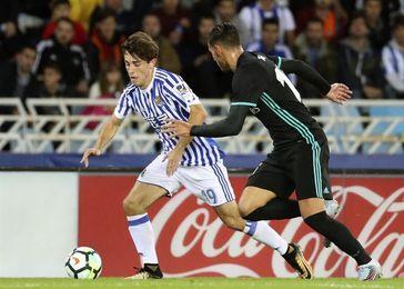 1-3. Mayoral y Bale enmiendan el rumbo del Real Madrid en un cómodo partido